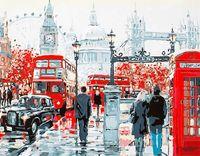"Картина по номерам ""На улицах Лондона"" (400х500 мм; арт. PC4050111)"