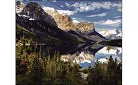 "Картина по номерам ""Озеро у подножия гор"" (400x500 мм)"