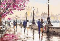 "Картина по номерам ""Набережная в Лондоне"" (400х500 мм)"