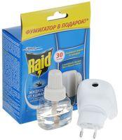 """Электрофумигатор с жидкостью от комаров """"Raid. 30 ночей"""""""