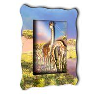 """3D аппликация """"Семья жирафов"""""""