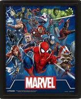 """Постер 3D """"Marvel. Cinematic Icons"""""""