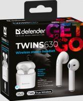 Гарнитура беспроводная Defender Twins 630 (белая)