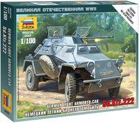 """Сборная модель """"Немецкий легкий бронеавтомобиль Sd.Kfz.222"""" (масштаб: 1/100)"""