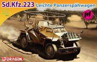 """Легкий бронеавтомобиль """"Sd.Kfz.223 Leichte Panzerspahwagen Twin Pack"""" (масштаб: 1/72)"""