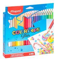 """Набор карандашей цветных """"Color Peps"""" (48 цветов)"""