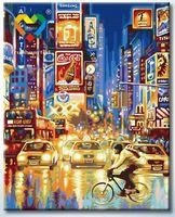 "Картина по номерам ""Огни Нью Йорка"" (400x500 мм; арт. HB4050310)"