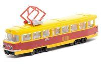 """Модель машины """"Трамвай"""" (масштаб: 1/43)"""