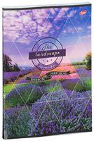 """Тетрадь общая в клетку """"The Landscape"""" (A4; 96 листов; в ассортименте)"""