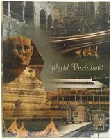 "Фотоальбом ""World Wariations"" (200 фотографий; 10х15 см; арт. 46548 PP46200)"
