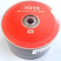 Диск DVD+R 4.7Gb 16x Mirex Bulk 50