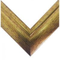 Рамка деревянная для картины по номерам (30х40 см; золото)