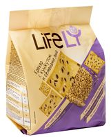 "Крекер ""Lifely. С кунжутом и семенами льна"" (180 г)"