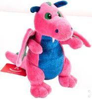 """Мягкая игрушка """"Дракон розовый"""" (20 см)"""