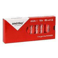 Батарейка алкалиновая Smartbuy LR03 (10/800) (SBBA-3A10BX) (10 штук)