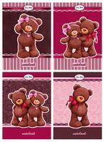 "Блокнот на спирали ""Bears Choco & Milk"" (А6; 80 листов; твердая обложка)"