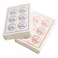 """Карты для покера """"Fournier 2818 Casino Europe"""" (красная рубашка)"""