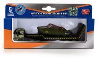 """Игровой набор """"Автотранспортер военный с лодкой"""" (арт. SB-16-30-M)"""