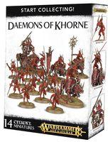 Warhammer Age of Sigmar. Daemons of Khorne. Start Collecting (70-97)