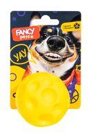 """Игрушка для собак """"Мячик сырник"""" (6,5 см)"""