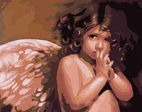 """Картина по номерам """"Ангелочек"""" (400x500 мм; арт. MG295)"""