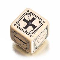 """Набор кубиков """"Ancient Fudge"""" (4 шт.; бежево-черный)"""