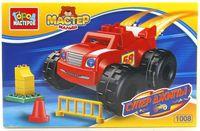 """Конструктор """"Мастер малыш. Супер джипы"""" (11 деталей; арт. LL-1008-R)"""
