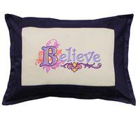 """Подушка """"Believe"""" (54х39 см; арт. 00-952)"""