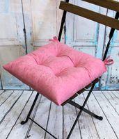 """Подушка на стул """"Velours"""" (42х42 см; светло-розовая)"""