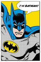 "Постер ""DC. I'm Batman"""