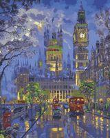"""Картина по номерам """"Вечерний Лондон"""" (400х500 мм; арт. PC4050122)"""