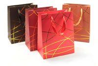 """Пакет бумажный подарочный """"Гламур"""" (в ассортименте; 32х26 см)"""