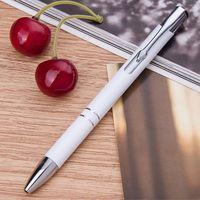 "Ручка шариковая синяя ""White Click"""