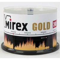 Диск CD-R 700Mb 24x Mirex Gold CakeBox 50