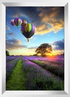 "Алмазная вышивка-мозаика ""Воздушные шары на закате"" (530х740 мм)"
