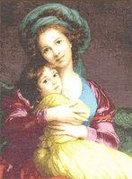 """Вышивка крестом """"Материнская любовь"""" (490x360 мм)"""
