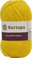 "Пряжа ""KARTOPU. Cozy Wool Sport №K1321"" (100 г; 280 м; темно-желтый)"