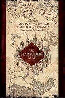 "Постер ""Harry Potter. The Marauders Map"""