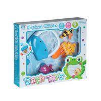 "Набор игрушек для купания ""Рыба-сачок с морскими жителями"""