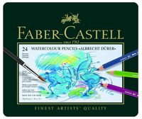 Акварельные карандаши ALBRECHT DURER® в металлической коробке (24 цвета)