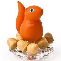 """Кнопки канцелярские """"Squirrel"""" (оранжевые)"""