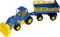 """Трактор с прицепом и ковшом """"Крепыш"""" (арт. 44808)"""