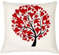 "Подушка ""Сердца на дереве"" (40x40 см; арт. 09-047)"