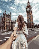 """Картина по номерам """"Следуй за мной. Лондон"""" (400х500 мм)"""