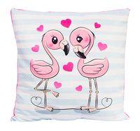 """Подушка """"Влюбленные фламинго"""" (33х33 см)"""