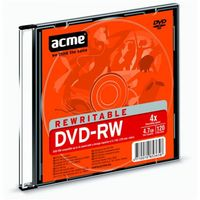 Диск DVD+RW 4,7GB 4x ACME (Slim case)