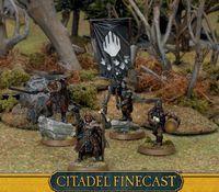 """Набор миниатюр """"LotR/The Hobbit. Finecast: Isenguard Commanders"""" (10-41)"""