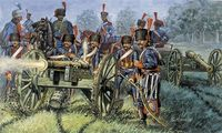"Набор миниатюр ""Французская артиллерия"" (масштаб: 1/72)"