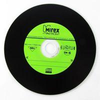 Диск CD-R 700Mb 52x Mirex MAESTRO (Vinyl) slim (в упаковке 5 штук)