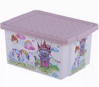 """Ящик для хранения игрушек """"Сказочная Принцесса"""" (арт. LA1027)"""